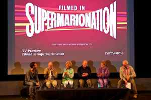 Members of AP Films / Century 21 Productions gathered at the British Film Institute for the premiere of Filmed in Supermarionation